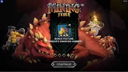 Info - Mining Fever-Microgaming Mobile Slot Game
