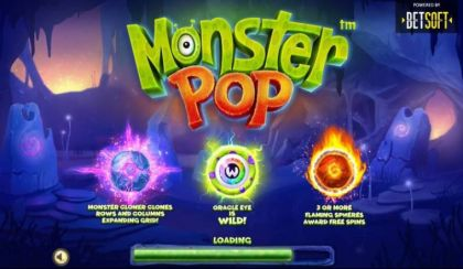 Info - Monster Pop-BetSoft Mobile Slot Game