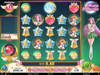 Slot Reels - Moon Princess-Play'n GO Mobile Slot Game