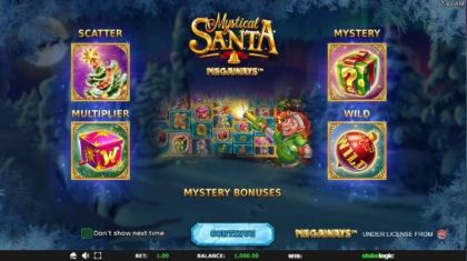 - Mystical Santa Megaways- Mobile Slot Game