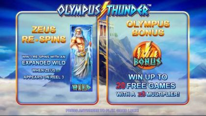 Info - Olympus Thunder-Nyx Interactive Mobile Slot Game