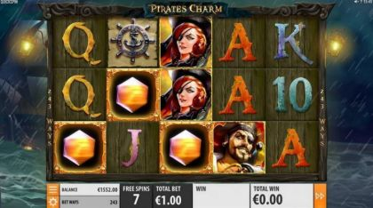 Info - Pirates Charm-Quickspin Mobile Slot Game