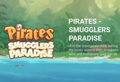 Info - Pirates - Smugglers Paradise-Yggdrasil Mobile Slot Game