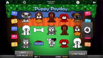 Slot Reels - Puppy PayDay-1x2 Gaming Mobile Slot Game