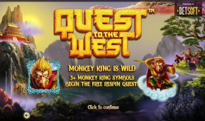 Info - Quest to the West-BetSoft Mobile Slot Game