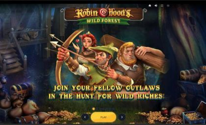 Info - Robin Hood's Wild Forest-Red Tiger Gaming Mobile Slot Game