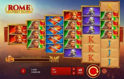 - Rome Caesar's Glory- Mobile Slot Game