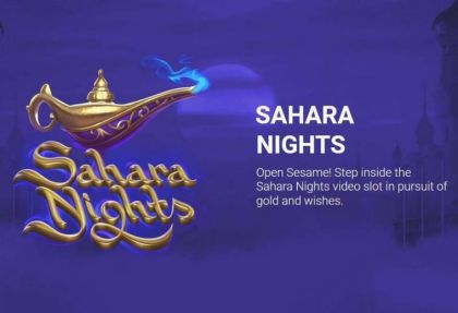 - Sahara Night- Mobile Slot Game