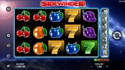 Slot Reels - Sidewinder Quattro-StakeLogic Mobile Slot Game