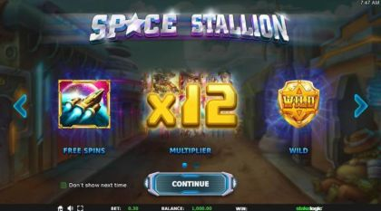 - Space Stallion- Mobile Slot Game