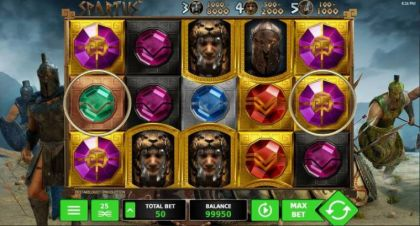 Slot Reels - Spartus-StakeLogic Mobile Slot Game