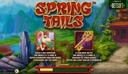 Info - Spring Tails-BetSoft Mobile Slot Game