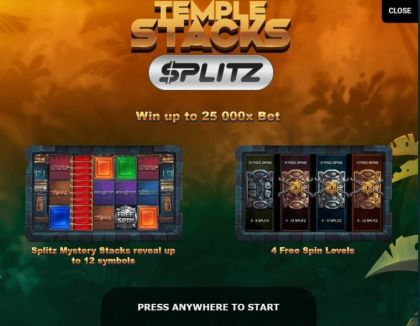 - Temple Stacks- Mobile Slot Game