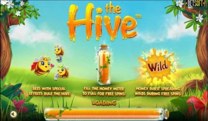Slot Reels - The Hive-BetSoft Mobile Slot Game
