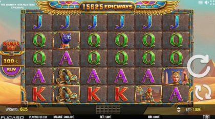 Slot Reels - The Mummy EPICWAYS-Fugaso Mobile Slot Game