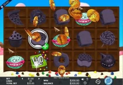 Slot Reels, Winning - The Munchies-Genesis Mobile Slot Game