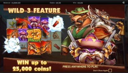Info - The Wild 3-NextGen Gaming Mobile Slot Game