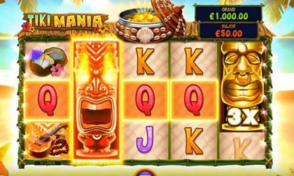 - Tiki Mania- Mobile Slot Game