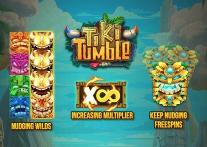 Info - Tiki Tumble-Push Gaming Mobile Slot Game