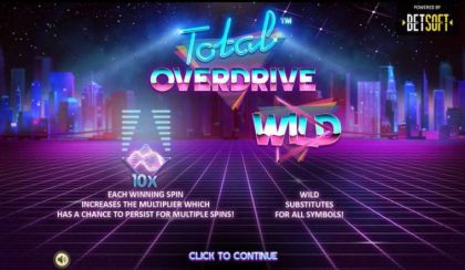 - Total Overdrive- Mobile Slot Game
