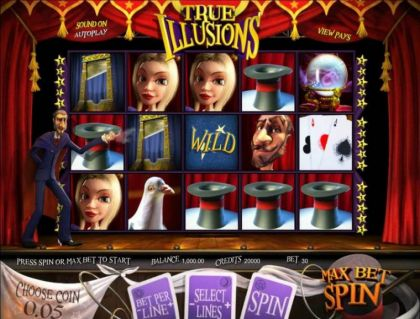 - True illusion- Mobile Slot Game
