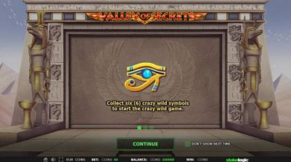 - Valley of Secrets- Mobile Slot Game