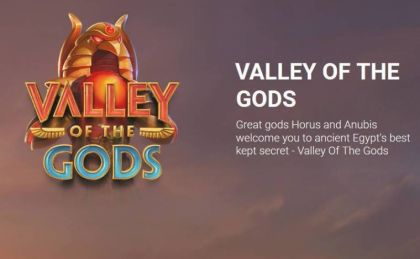 Info - Valley Of The Gods-Yggdrasil Mobile Slot Game
