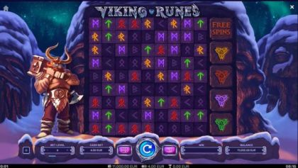 Slot Reels - Viking Runes-Yggdrasil Mobile Slot Game