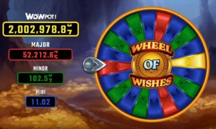 Bonus 1, Wheel - Wheel of Wishes-Microgaming Mobile Slot Game