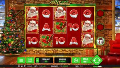 Slot Reels - Wild Christmas-StakeLogic Mobile Slot Game