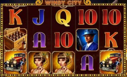 Slot Reels - Windy City-Endorphina Mobile Slot Game