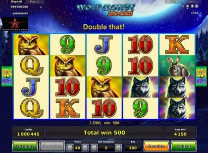 Slot Reels - Wolf Money Xtra Choice-Novomatic Mobile Slot Game