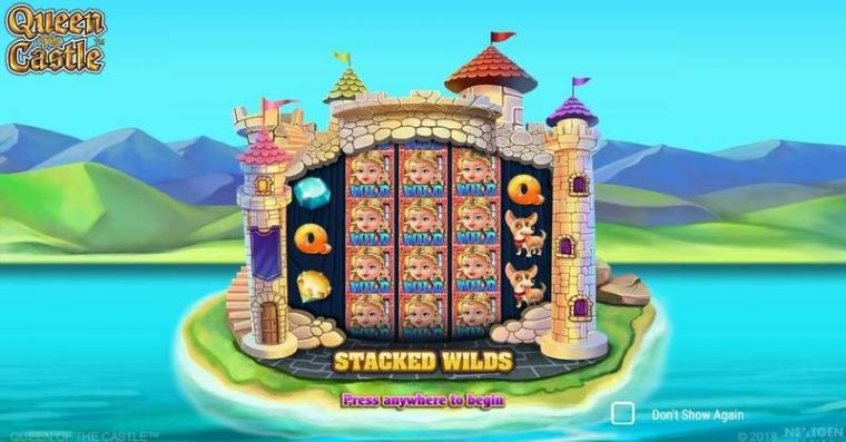 Info at Queen of Castle 5 Reel Mobile Real Slot created by NextGen Gaming