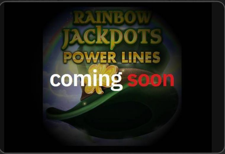 Info at Rainbow Jackpots Power Lines 6 Reel Mobile Real Slot created by Red Tiger Gaming