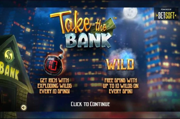 at Take the Bank Mobile Real Slot created by
